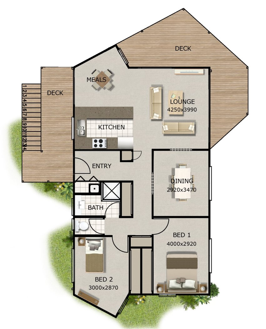 Kithome House Plans Home Office Sleep Out Granny Flat