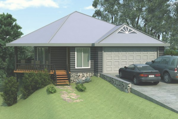 3 bed Pole Home Design