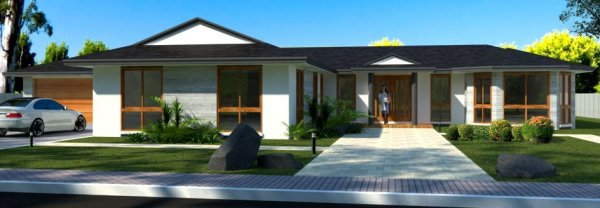 narrow lot 3 bedroom home design