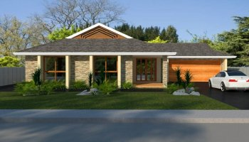 3 Bed + Double Garage House Plan:153CLM