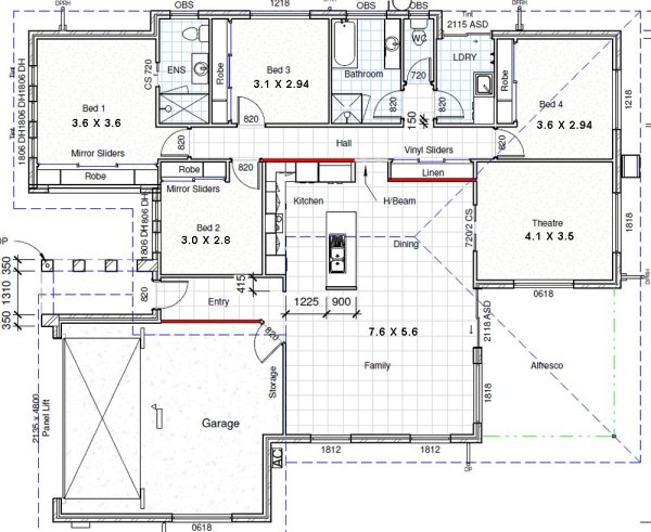 4 bedroom house plans