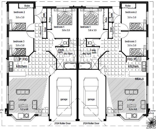 australian duplex floor plans blueprints australian duplex floor plans 8 bedroom 6 bath room 2