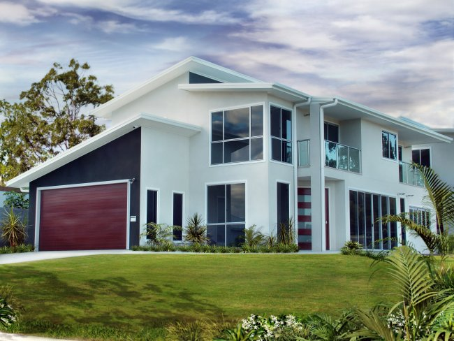 4 Bedroom Villa 2 Storey Home Home Design Suits Small And