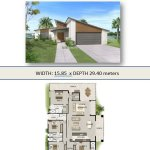 House Plan 4 Bed+ 2 Bath+2 Car