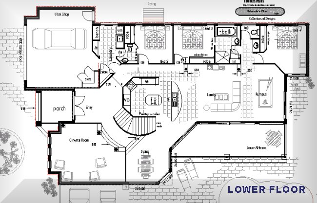 Luxury house floor plans australia for House floor plans australia