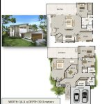 2 Level Plan 4 Bed+ 3 Bath