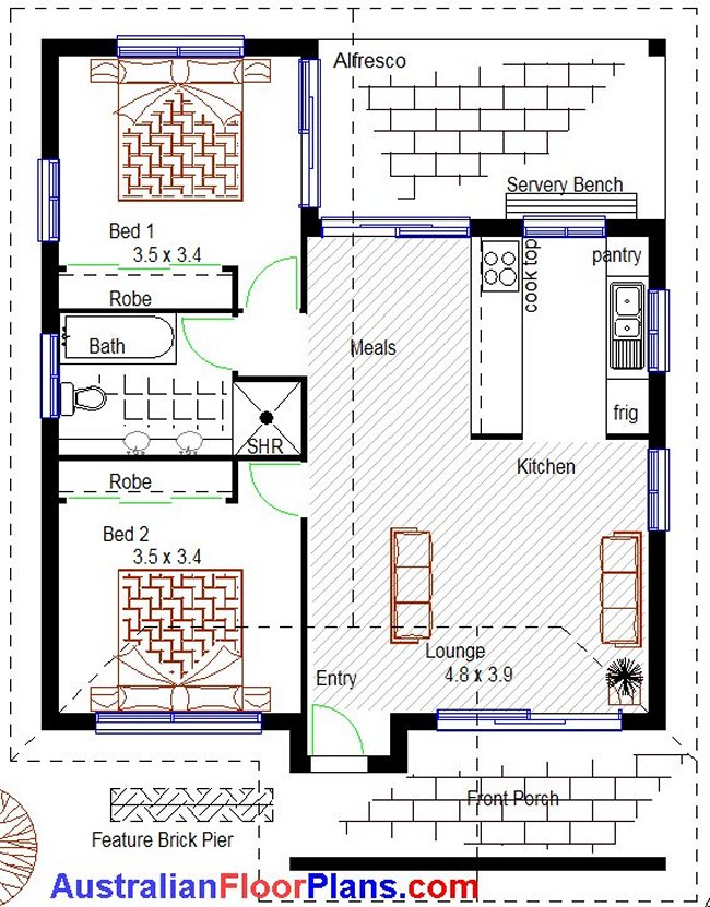 2 Bedroom Granny Flat Plus Home Office Or Home Studio