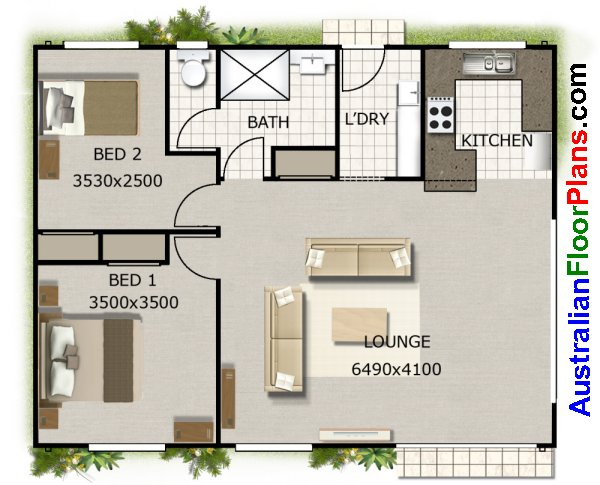 2 bedroom granny flat