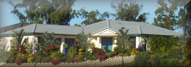 Corner Narrow Block Floor Plan Building House Designs House Plans For Sale