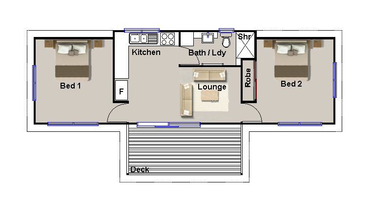 25 simple 2 bedroom guest house floor plans ideas photo