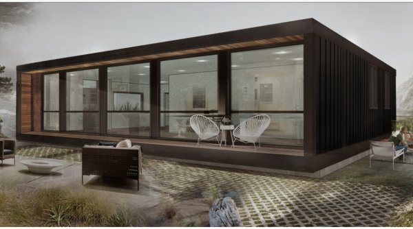 Modern 3 Bed Ship Container Home Shipping Container